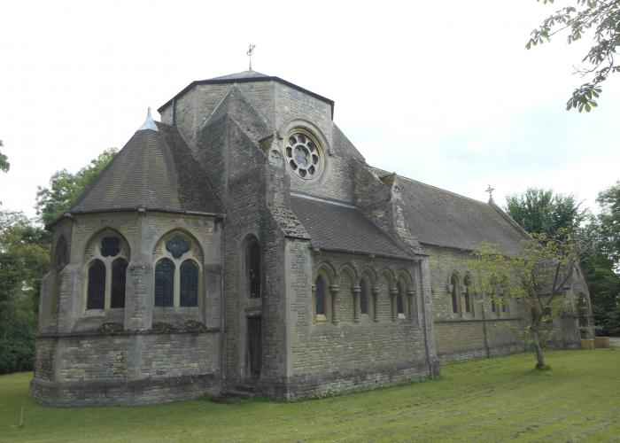 The exterior of St Frideswide's