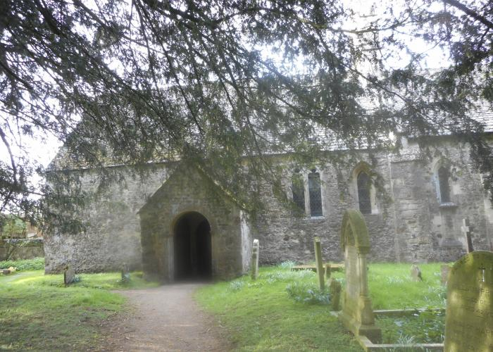 The exterior of St Margaret of Antioch.