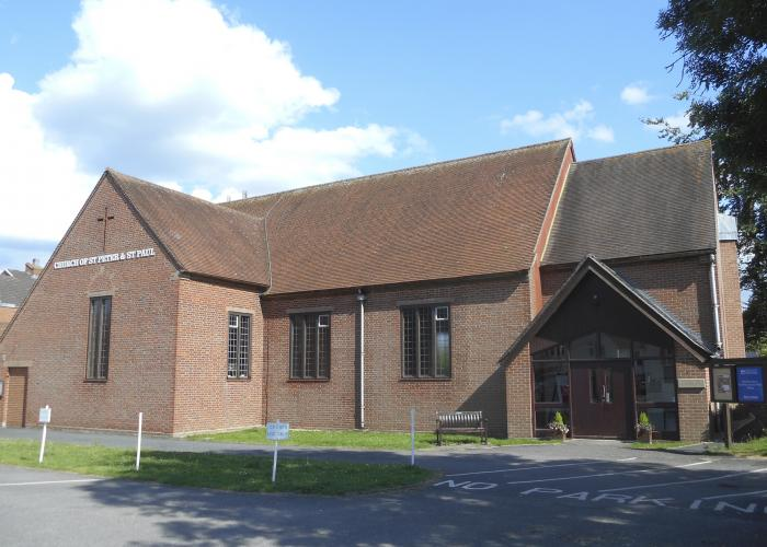 The exterior of St Peter & St. Paul, Botley